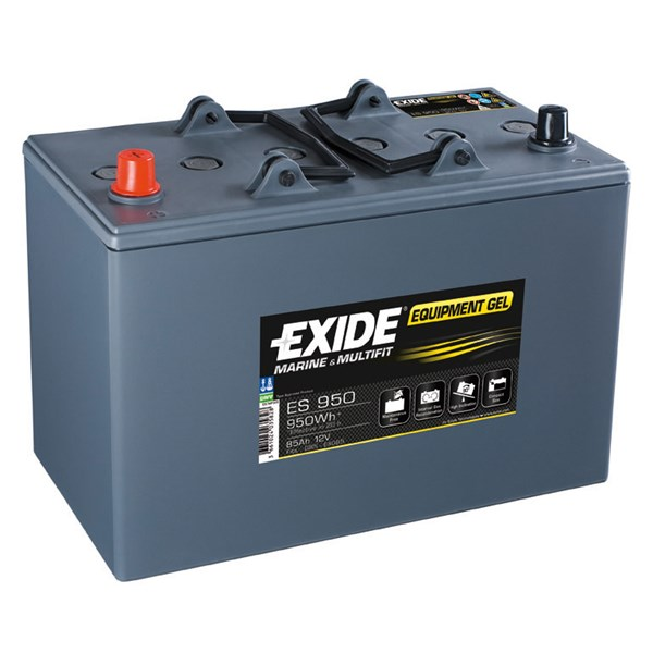 Startbatteri EXIDE Equipment GEL (Exide) Startbatteri